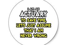 Actuarial things