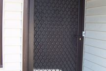 security screen gate