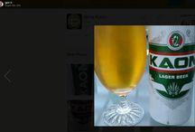 Untapped, strangers drinking Kaon Beer
