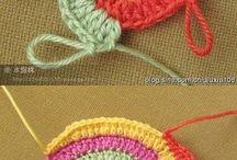 trapillo y crochet / Cositas varias con ganchillo