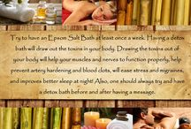 Massage tip of the week! / Massage home remedies and good facts to know about your body and massages! Tips of the week!