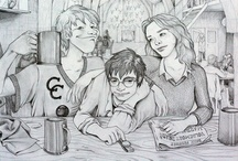 Harry Potter's Wizarding World  / illustration, art, and photography depicting the boy who lived