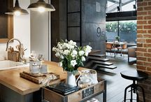 british and industrial interior design