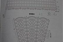 crochet mitones vestidos y otros