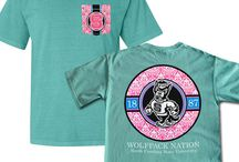 NC State Comfort Colors Tees
