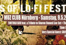 KINGS OF LO-FI FESTIVAL / MUZ CLUB Nürnberg Samstag, 9.5.2015