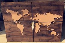 DIY Weltkarte