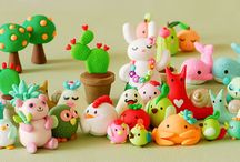 Polymer Clay Puppis