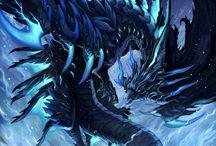 Dragons / Parce que les dragons, c'est classe.