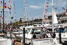 """Bahia Corinthian Yacht Club / One of the premiere yacht clubs on the West Coast. Established in 1958, the club is known as the """"friendliest yacht club on the bay."""" Our members share their love of the ocean, whether racing, cruising or fishing."""