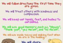 Kindergarten Behaviour / by Allison Fraser-Kershaw