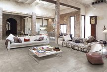 """Loft-Style Ceramic Tile / Indeed, industrial style (or so-called """"loft"""") has recently become one of the hottest trends in ceramic tile manufacturing."""