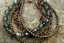 Hand made jewelry-mixed media / Anything goes