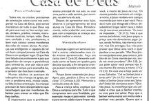 BOAS MANEIRAS NA CASA DE DEUS