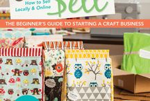 Projects from my book Sewing to Sell / projects made by me, Virginia Lindsay and others from the book Sewing to Sell