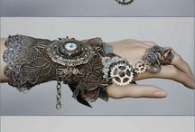steampunk accessories / jewelries, hats, goggles, anything steampunk