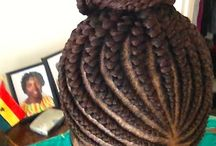 Cornrows / Cornrows are a great protective stye and vacation hair.