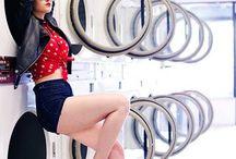 Laundromat/ Hip girl shoot