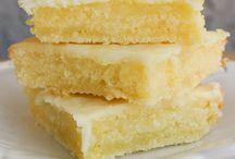 Lemon bar / Brownies