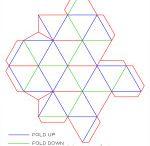 star tetrahedron folding