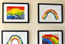 Rainbow room / by Leanne Cropp