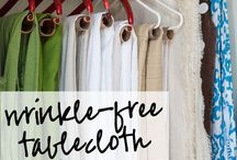 Linen Hacks and Organization