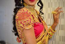 Priya blouse works