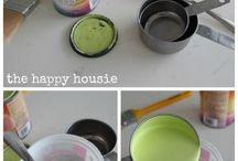Reteta chalk paint