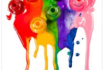 Eye Candy - Colours of the rainbow / There's no rainbow without rain! :)