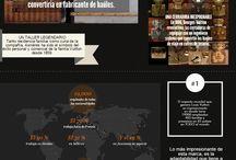 Infografía de marcas reconocidas / Marcas que han y sigue dejando huella en el mundo