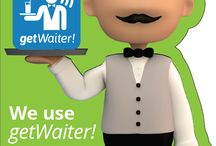 getWaiter! App / The waiter calling and customer experience tracking tool.