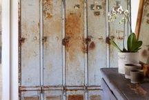 Vintage industrial interior