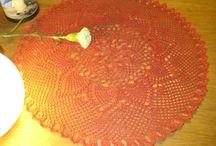 Vintage Pineapple Doily Crochet