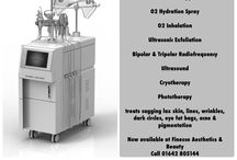Oxynergy Excellence by Oxynergy Paris / State of the art hyperbaric triple oxygen skin rejuvenation system featuring Ultrasonic Exfoliation, Bipolar & Tripolar Radiofrequency, Ultrasound, Cryotherapy & Phototherapy