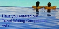 Travel Writing Competition 2013
