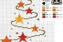 Gráficos de punto de cruz / Motivos