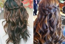 Hair updo's for prom / Vanhojen kampaus ideoita