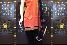 Stylish Cotton Silk Patiala Suit Collection.