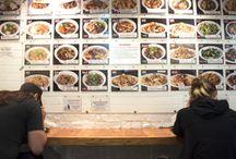 Favorite Restaurants & Cafés / Great food in New York City and around Boston