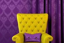 YELLOW , GOLD  AND  PURPLE
