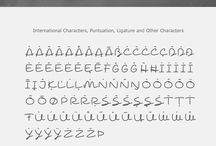 Шрифт алфавит