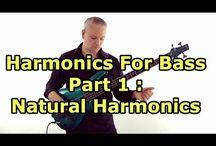 Harmonics for Bass Guitar - Talkingbass Lessons / These lessons deal with harmonics for bass guitar