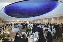 Starlight Room Weddings / Niagara's most sought-after venue space.  Where else can you enjoy shooting stars inside?