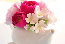 British Bone China florals and others I like. ♥️