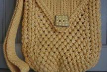 örgü - penye - tığ çanta yapımı
