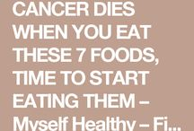 cancer dies eating these foods