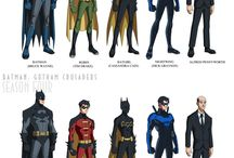 DC COMICS n MARVEL