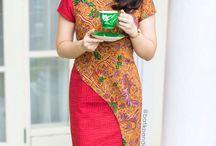 batik dress lg ya