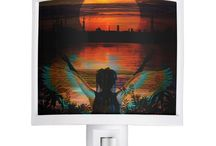 Zazzle Shop / New designs in the Zazzle shop.  Angel nightlights, all-over design shirts, plates and more added daily. Shop link: http://www.zazzle.com/bierniat?rf=238739783032656368