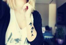 Tattoos,piercings and rude things;)